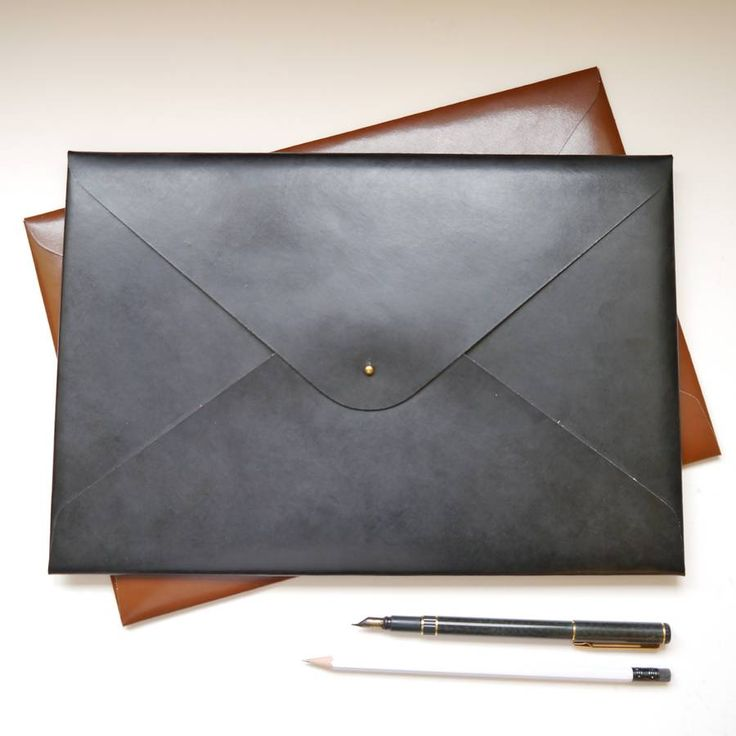 Classic Personalised A4 Leather Document Folder
