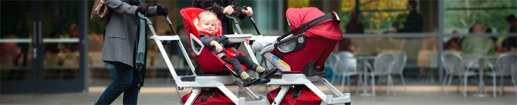 Orbit Baby Double Helix Stroller, perfect for siblings and twins!