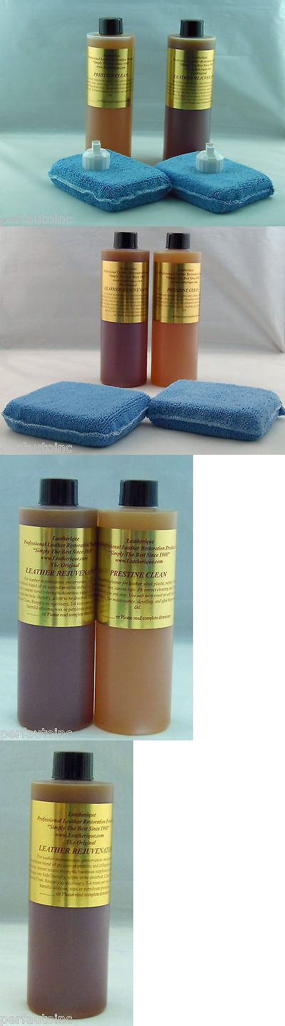 Other Home Furniture 175752 Leatherique Leather Restoration Rejuvenator Oil Prestine Clean 16Oz Kit App