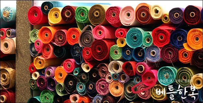 hanbok fabrics