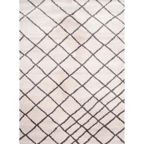 Alfombra Carpeta Moderna Mullida 160x230cm Kreatex