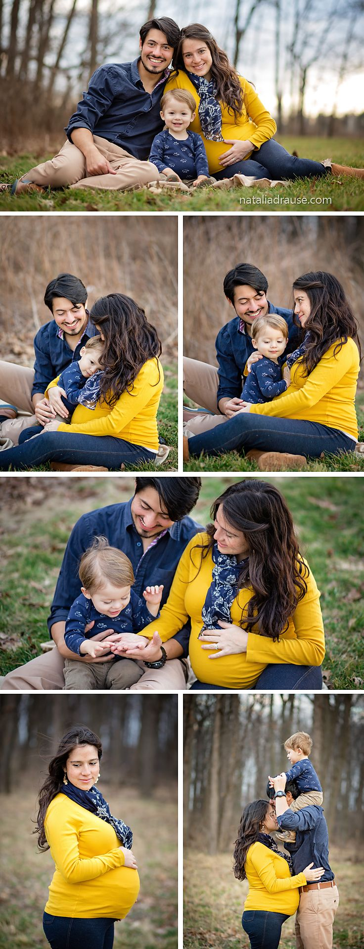 Maternity / family photos | Spring family photo session | What to wear | Outdoor Maternity Photoshoot | South Bend Indiana Photographer