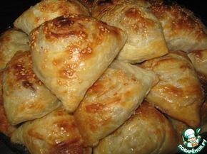 Слоёная самса с мясом ингредиенты