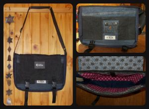 This is a Laptop Bag for a small laptop or Notebook I made. The size of the Laptop Bag can be customized.