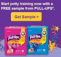 Free Huggies Pull-Ups Training Pants Sample!