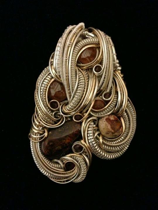©Austin Clay Evans #wirewrap #jewelry #wirewrapjewelry