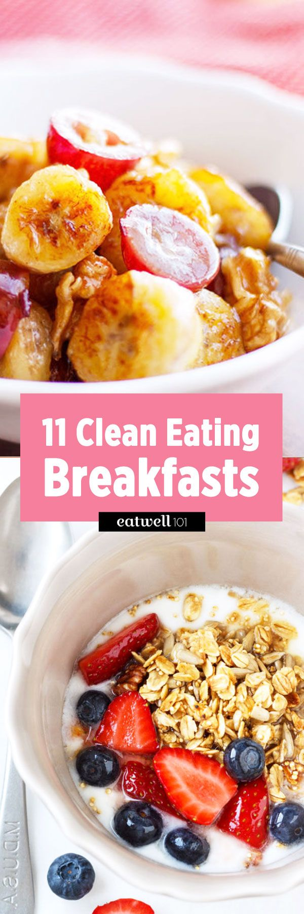 Are you looking for the perfect clean eating breakfast? To help you in this quest, we have compiled the most popular clean eating breakfast and brunch recipes on Eatwell 101 in this recipes round-u…
