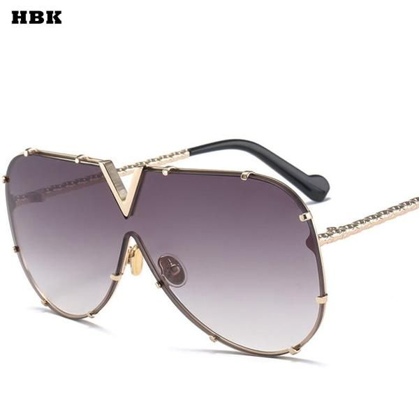 HBK Luxury Italy Oversized Aviator Sunglasses Women… Get an EXTRA 20% OFF ALL Orders with discount code: FWCOM20 #BestPrice #DiscountCode