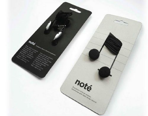 note earplugsMusic Note, Packagingdesign, Innovation Products, Packaging Design, Student Work, Headphones, Products Design, Creative Packaging, Innovation Design