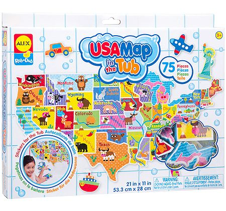 USA Map in the Tub by Alex - $17.95