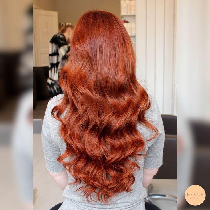 Kopparrött hår