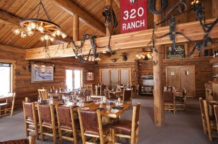 Dining In Big Sky, Montana: 320 Ranch Steak House and Saloon, Wild Game Restaurant