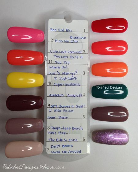 New Collections: OPI GelColor Glamazon #1 and Glamazon #2 ...