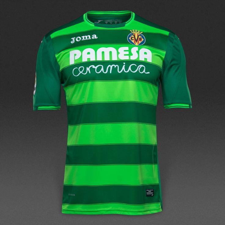 Joma Villarreal CF 16/17 SS 3rd Shirt - Green/White