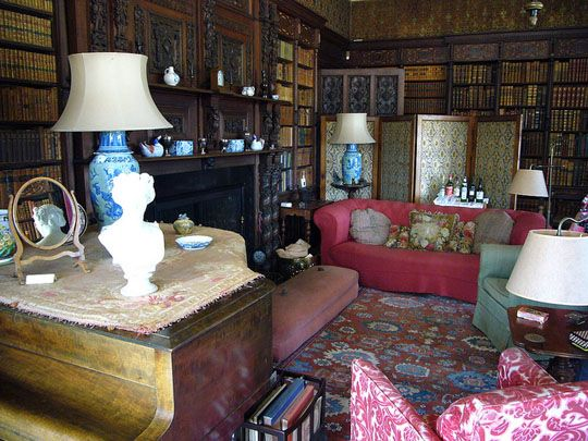 English Country House Libraries Library Lust Pinterest