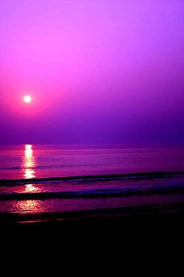 Purple Sunset Dresses Blue And Purple Sunset At Purple