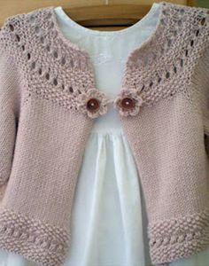 suéteres de tricô para as meninas   Compartilhar tricô e crochê: casaco de lã de confecção de malhas para as meninas