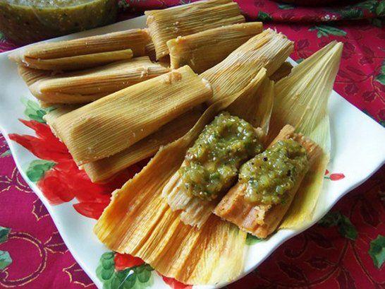 Shredded Beef Poblano Tamales - Que Rica Vida