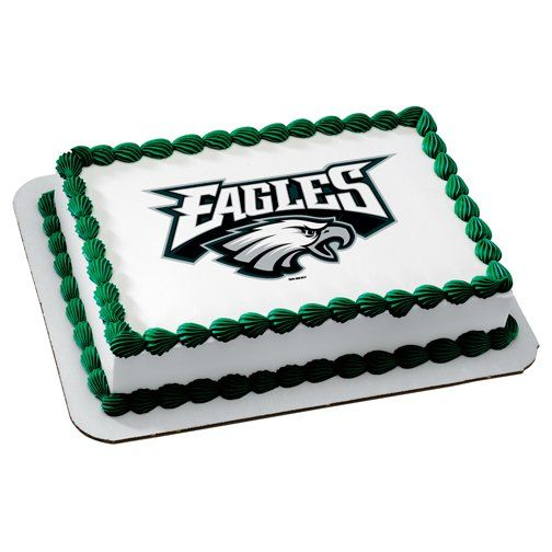 Philadelphia Eagles Birthday Cake Toppers