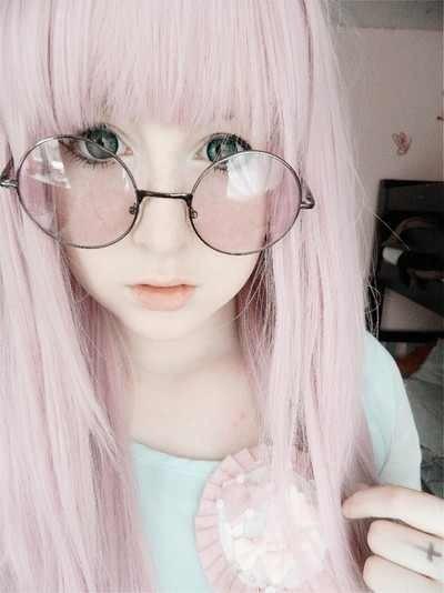 hair pink Skin diamond