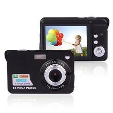 Mini Câmera Digital de 8x Zoom Digital Frame Digital Da Foto de 2.7 de polegada COMS HD 18MP Recodificação de Vídeo 3 Cores(China (Mainland))