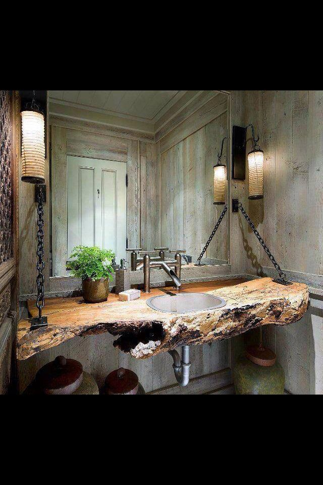 Lass Natur an dein Waschbecken.