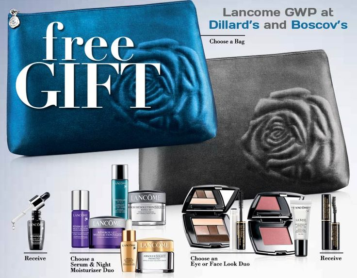 91 best Lancome Gift with Purchase images on Pinterest | Lancome ...