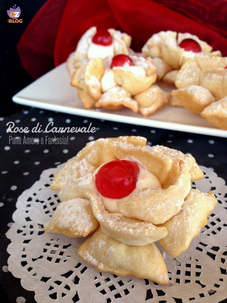 Rose di Carnevale   Pane Amore e Fantasia!