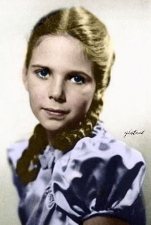 Helga Susanne Goebbels (1 Sept. 1932--1 May 1945), eldest child of Progaganda Minister Joseph Goebbels and his wife, Magda. Helga was a Daddy's girl and Hitler's favorite. With her long, dark hair and blue eyes, she was the prettiest of the girls. Helga's temperament was such that Magda said she'd shoot an unfaithful husband. There's evidence Helga struggled against taking the poison that killed her. She was 4 months shy of her 13th birthday when she died.