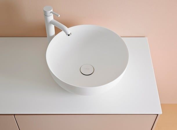 cerclo ovalo y quadro lavabos de corian el prestigioso diseador israel arik