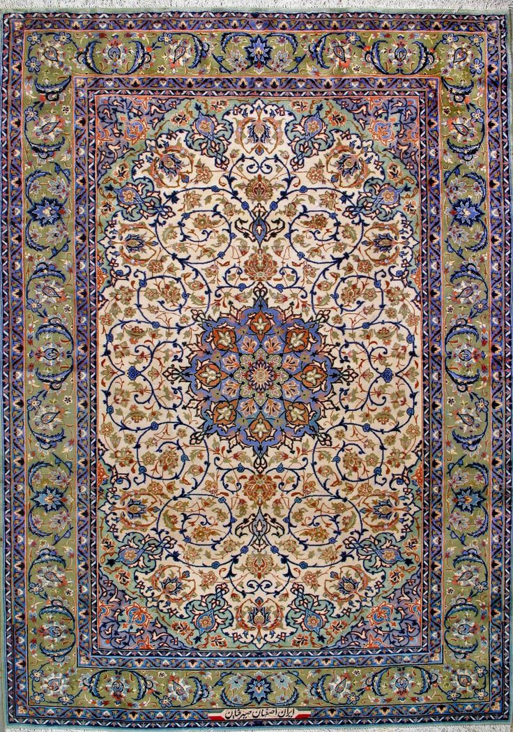 Esfahan Persian Rug - 7' 9