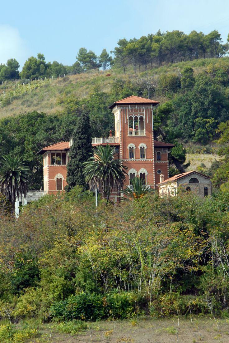 Villa Giovannetti, primi del 900 #marcafermana #altidona #fermo #marche