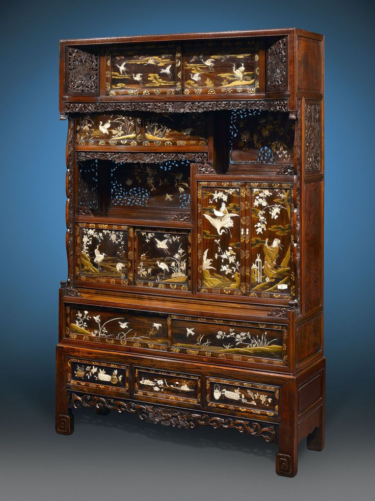 Antique Japanese Furniture, Meiji Antiques, Japanese Meiji Cabinet ~ M.S.  Rau Antiques - 127 Best JAPANESE MEIJI PERIOD ANTIQUE : MYO Images On Pinterest