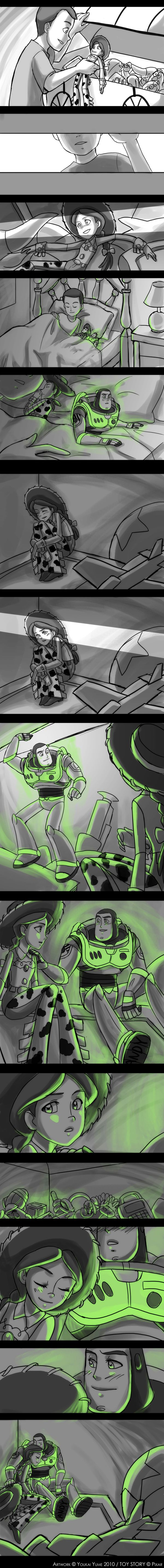 Toy Story: Glow in the Dark by *YoukaiYume on deviantART