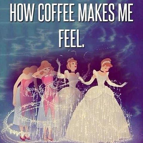 The power of caffeine!✨☕️ #NationalCoffeeDay #LOL #musthavecoffee