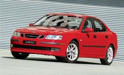 2006 red saab 9-3