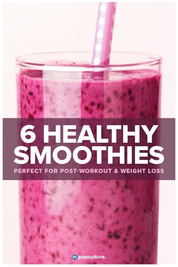 6 Best Post Workout Recovery Smoothies Weight Loss Post