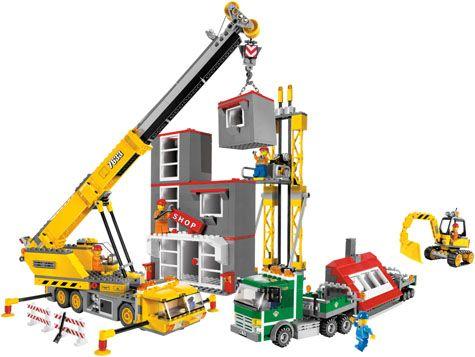 LEGO City 7633 Bouwplaats