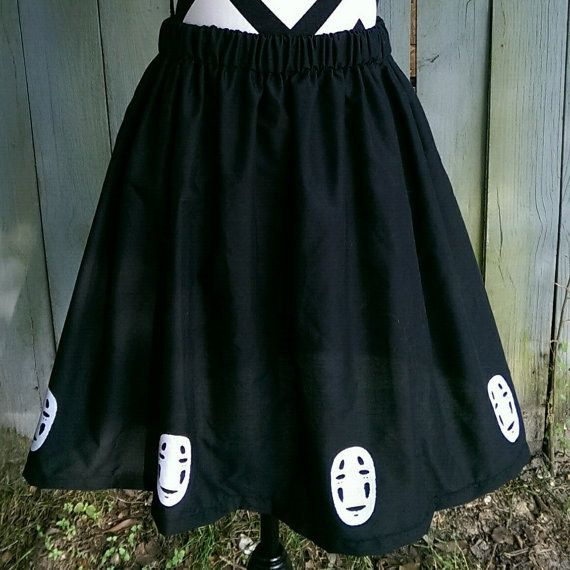 No-Face handmade skirt (with elastic waistband, in case the wearer eats a really, really big meal!)