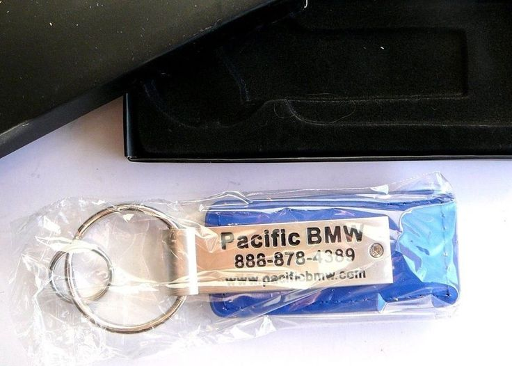 BMW Dealer Keychain Welcome Car Kit Gift GWP Promo Box Pacific Glendale 2014 NEW #WelcomeKit