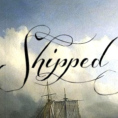Shipped Goods font - great free font for weddings
