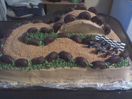 dirt bike cake - Buscar con Google