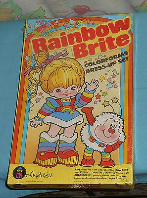 vintage RAINBOW BRITE COLORFORMS MISB sealed