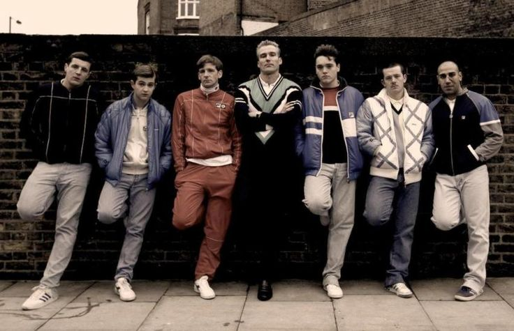 1980's English Casuals. Hooligan Style.