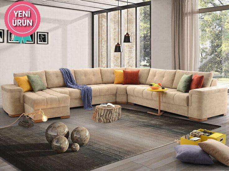 Sönmez Home | Modern Köşe Takımları | Puffy Köşe Takımı  #Modern #Furniture #Mobilya #Köşe #L #Koltuk #Takımı #Sönmez #Home #EnGüzelAnlara #EnzaHome #YeniSezon #KöşeTakımı #Home #HomeDesign  #Design #Decoration #Ev #Evlilik #Wedding #Çeyiz #Konfor #Rahat #Renk #Salon  #Çeyiz #Kumaş #Stil #Tasarım #Furniture #Tarz #Dekorasyon