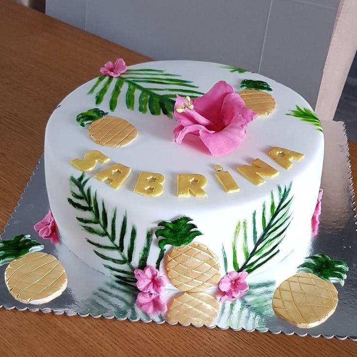 #Tropcial cake