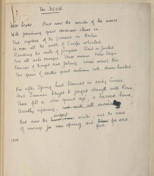Analysis of Wilfred Owen's The Last Laugh Paper