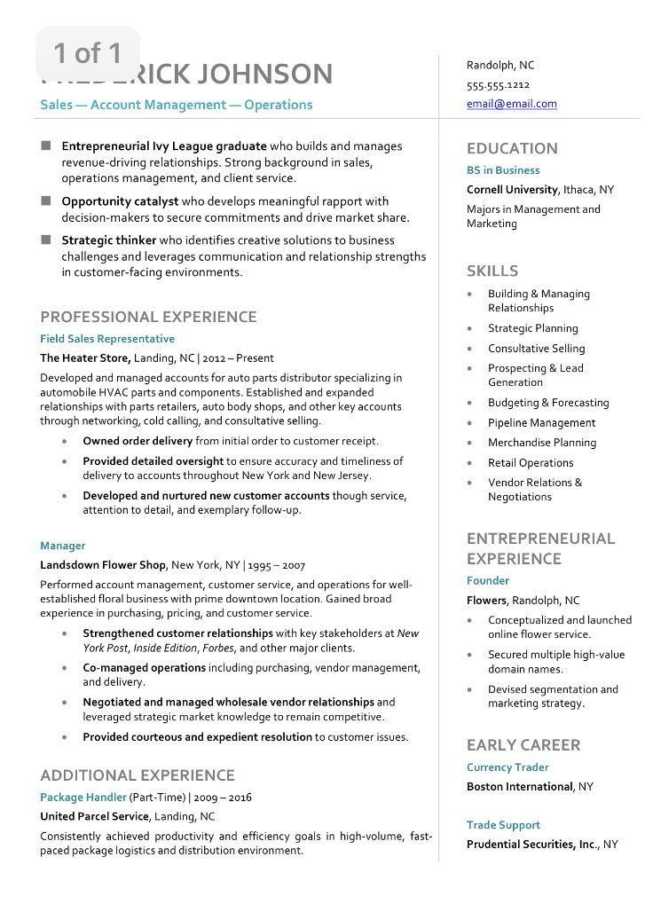 Wondering what your Resume should look like in 2018? Hint if you\u0027re