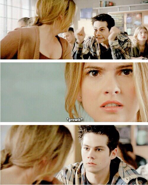 Teen Wolf - Stiles and Malia