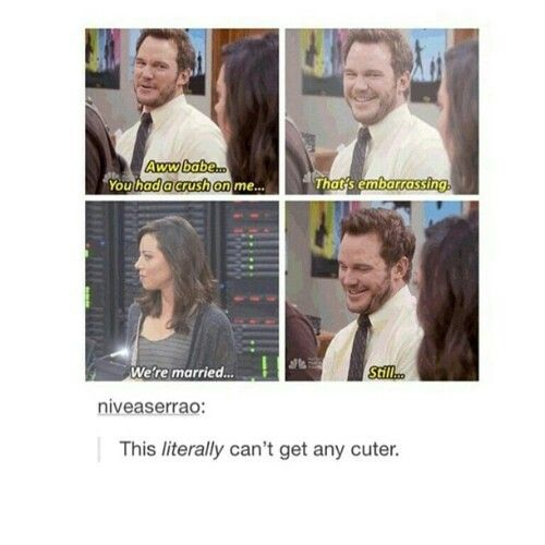 Andy Dwyer is my main reason to live
